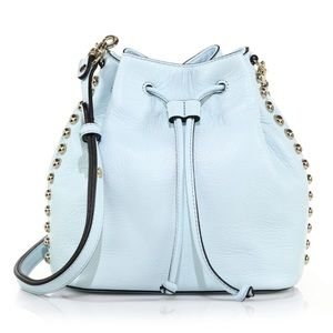 Rebecca Minkoff Leather Studded Bucket Bag